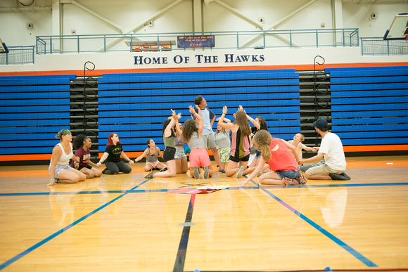 Athletic Inmates In Lip Service Session